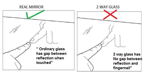 Mirror Spy Camera Detect